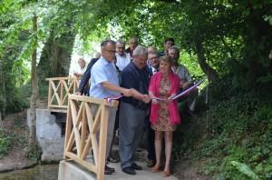 Pont en bois de Bourdainville