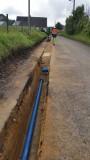 Travaux de renouvellement du réseau d'eau potable à Criquetot sur Ouville