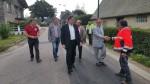 Réception des travaux de canalisations d'eau potable à Criquetot sur Ouville