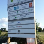 Début des travaux de la station d'épuration d'Hugleville en Caux / Saint Ouen du Breuil
