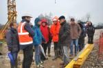 Les élus du Syndicat ont visité le chantier de la station d'épuration d'Hugleville en Caux / Saint Ouen du Breuil