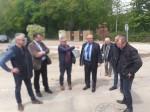 Réception des travaux d'extension du réseau d'assainissement collectif rue du Clos Chaillou au Saussay