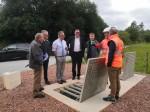 Réception des travaux d'extension du réseau d'assainissement rue du Petit Pont à Flamanville